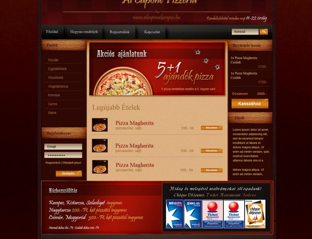 Alcapone Pizzéria
