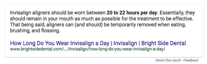 Wie lange tragen Sie einen Tag Invisalign 3:14:17.png
